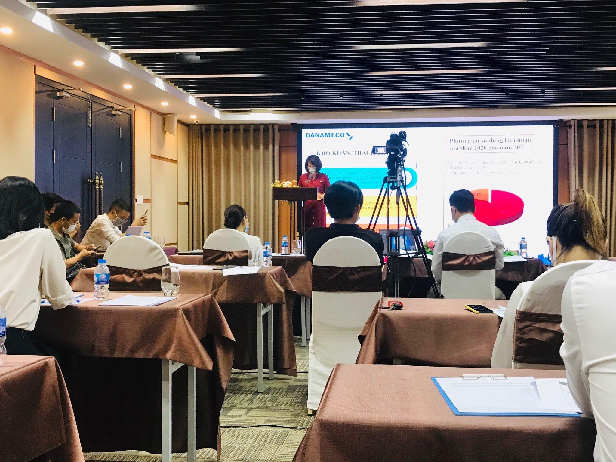 DANAMECO tổ chức Đại hồi đồng cổ đông thường niên 2021